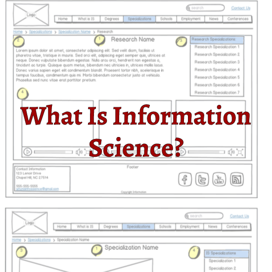 What Is Information Science? Logo